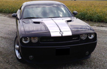 Dodge Challenger Clear Headlight Protection Kit