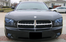 Dodge Charger HID Blue Headlight Protection Kit