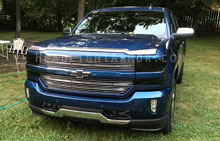 Chevrolet Silverado Smoked Headlight Protection Kit
