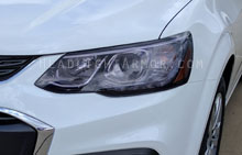 Chevrolet Sonic Light Smoked Headlight Protection Ki