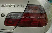 BMW E46 Coupe Light Smoke Taillight