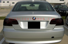BMW 3 Series Coupe Smoked Taillight Kit Smoke Taillight