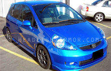 Honda Fit Clear Headlight Protection Kit