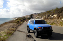 Toyota FJ Cruiser HID Blue Headlight Protection Kit