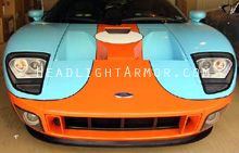 Ford GT Clear Headlight Protection Kit