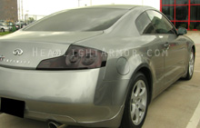Infiniti G35 Coupe Dark Smoke Taillight