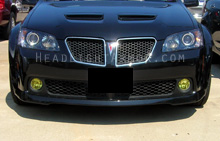 Pontiac G8 GT Yellow Fog Light Protection Kit