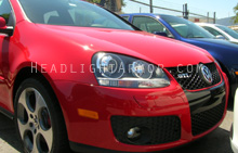 VW GTI Clear Headlight Protection Kit
