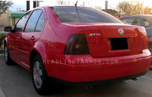 VW Jetta Smoke Taillight