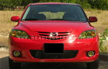 Mazda Mazda3 GT Yellow Headlight Protection Kit