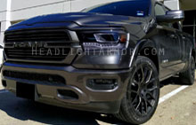 Dodge / RAM 1500 Light Smoked Headlight Protection Ki