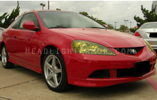 Acura RSX GT Yellow Headlight Protection Kit