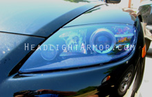 Mazda RX8 HID Blue Headlight Protection Kit