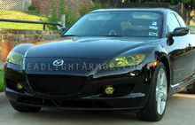 Mazda RX8 GT Yellow Headlight Protection Kit
