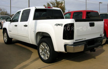 GMC Sierra Dark Smoke Taillight