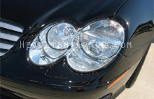 Mercedes SL55 Clear Headlight Protection Kit