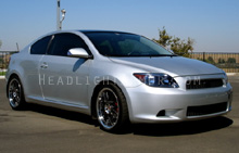 Scion tC HID Blue Headlight Protection Kit