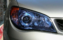 Subaru WRX HID Blue Headlight Protection Kit