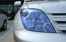 Scion xA HID Blue Headlight Protection Kit