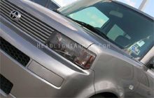 Scion xB Light Smoked Headlight Protection Kit