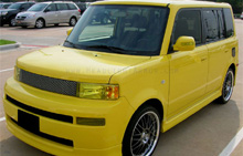 Scion xB GT Yellow Headlight Protection Kit