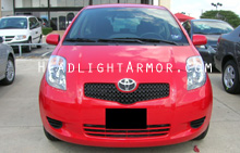 Toyota Yaris Clear Headlight Protection Kit