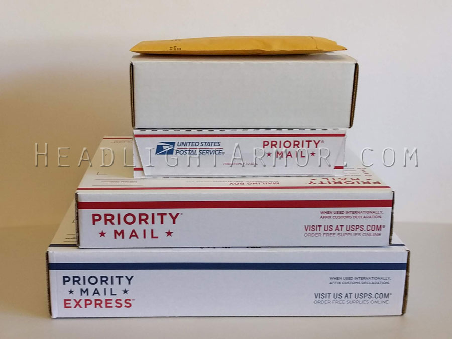 Various Shipment Packaging