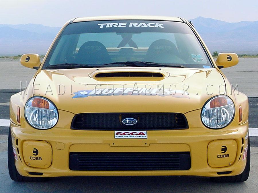 Subaru Impreza Or Wrx Clear Headlight Protection Kit