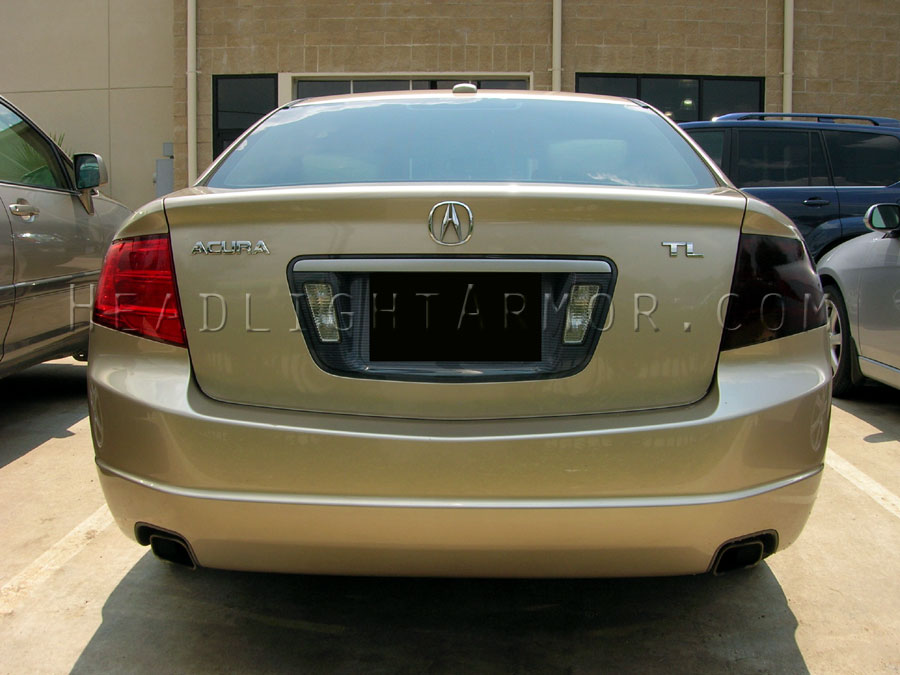Acura TL Smoked Taillight Side Marker Kit - Acura tl taillights