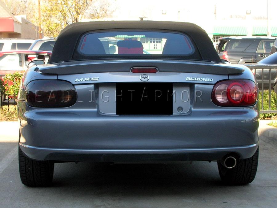 Lights Mazda Miata Smoked Taillight Kit Vs Stock