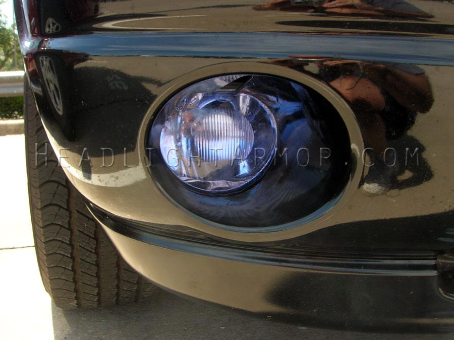 Dodge Ram Hid Blue Fog Light Protection Kit