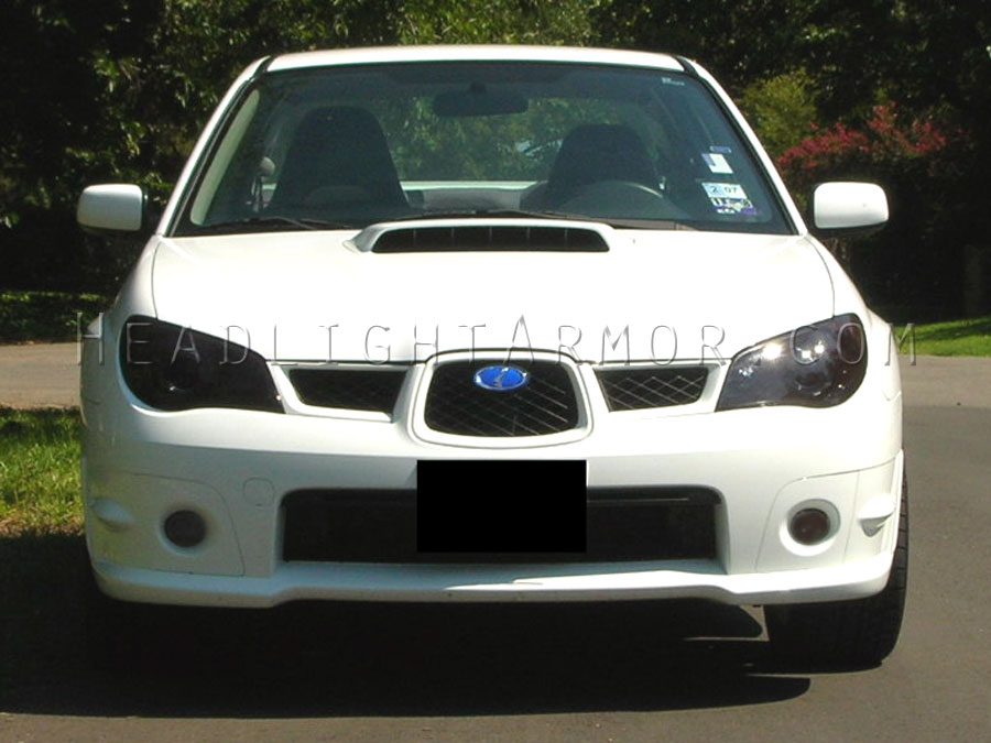 Subaru Impreza Wrx Sti Smoke Fog Light Protection Kit