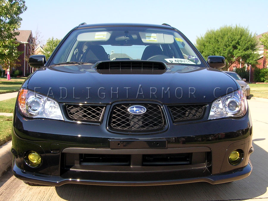 Subaru Impreza And Wrx Gt Yellow Fog Light Protection Kit