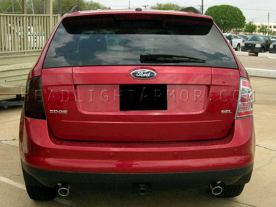 Ford Edge Smoke Taillight Kit Vs Stock