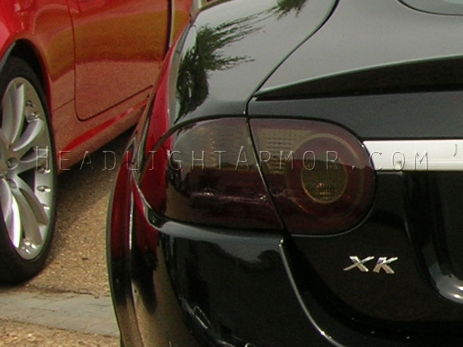 07-11 Jaguar XK and XKR Coupe Smoked Taillight Film Kit