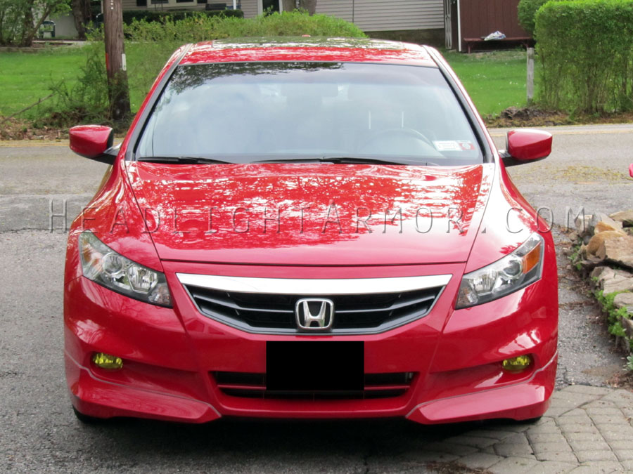 Perfect Honda Accord GT Yellow Fog Light Protection