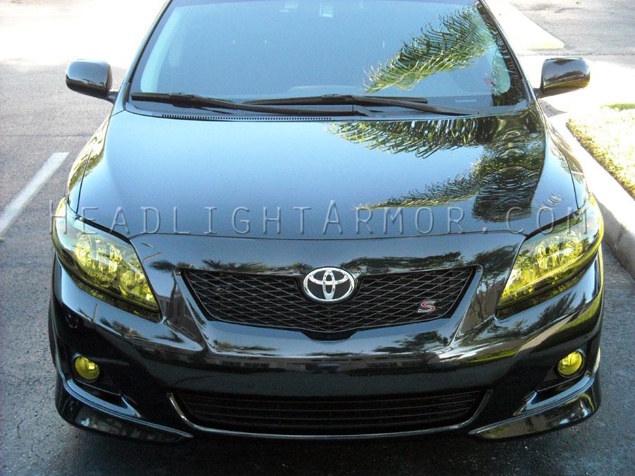Toyota Corolla Gt Yellow Headlight Protection Kit