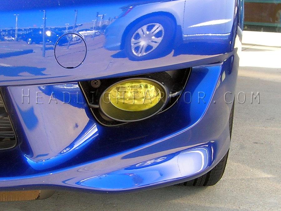 Honda Fit Gt Yellow Fog Light Protection Kit