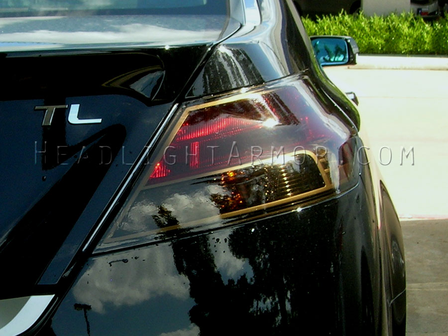 Acura TL Smoked Taillight Film Kit - Acura tl taillights