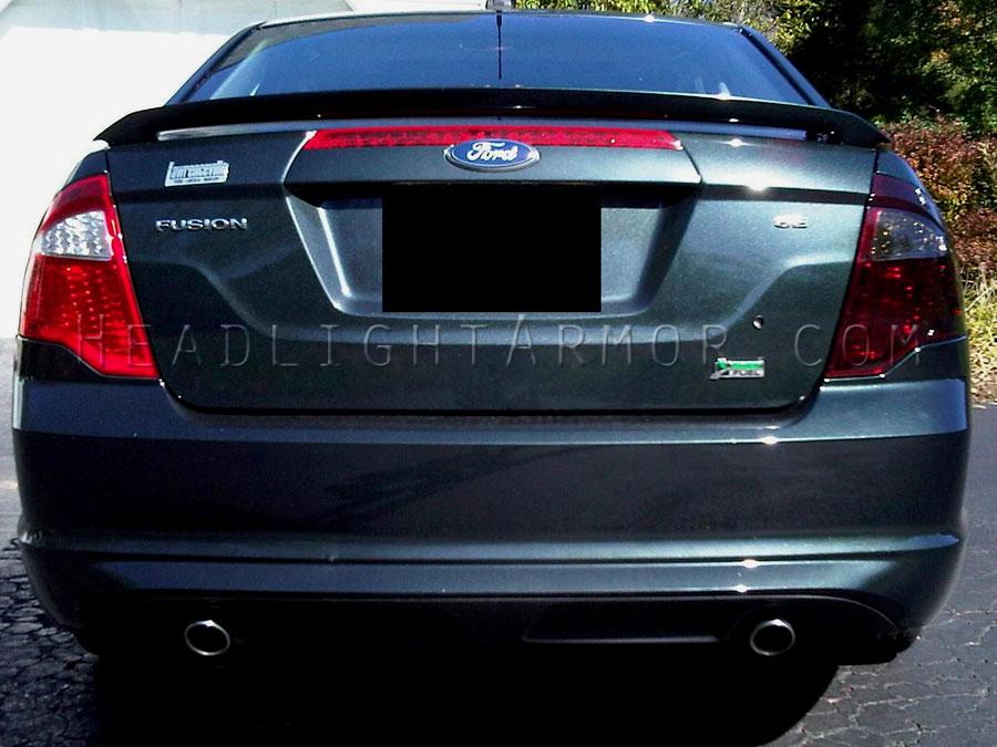 Ford Fusion Smoke Taillight Kit Vs Stock Direct Sun