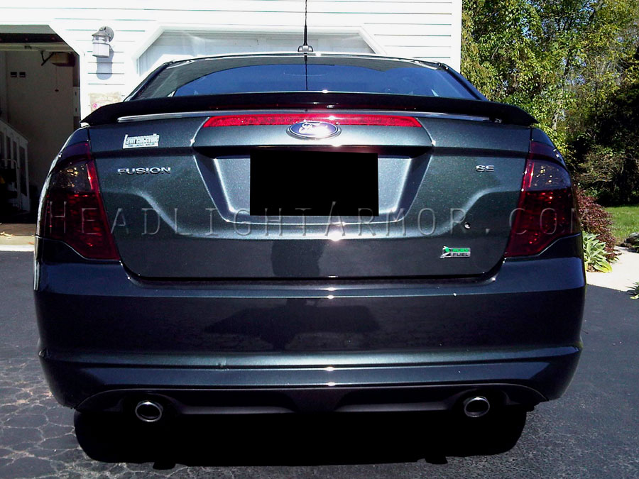 Ford Fusion Smoke Taillight Kit Direct Sun