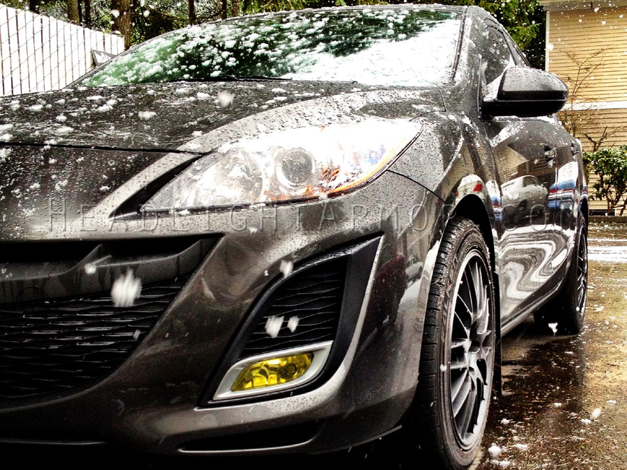 Mazda Mazda3 GT Yellow Fog Light Protection Kit ...