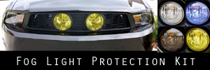 10-12 Ford Mustang GT w/ Street Scene Center Grille kit - Grille Lights