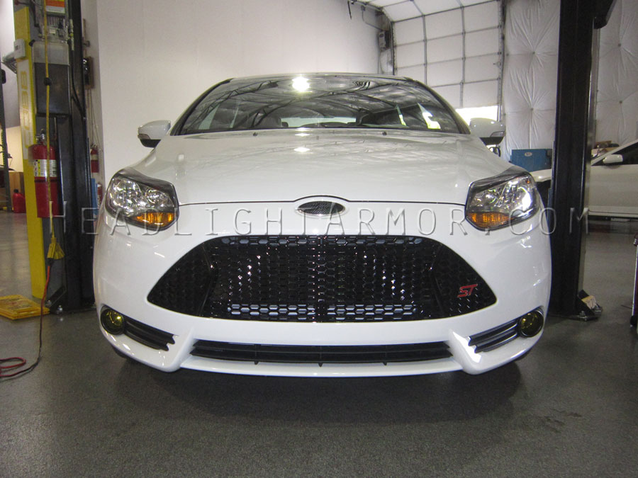 Ford Focus St Clear Headlight Protection Film