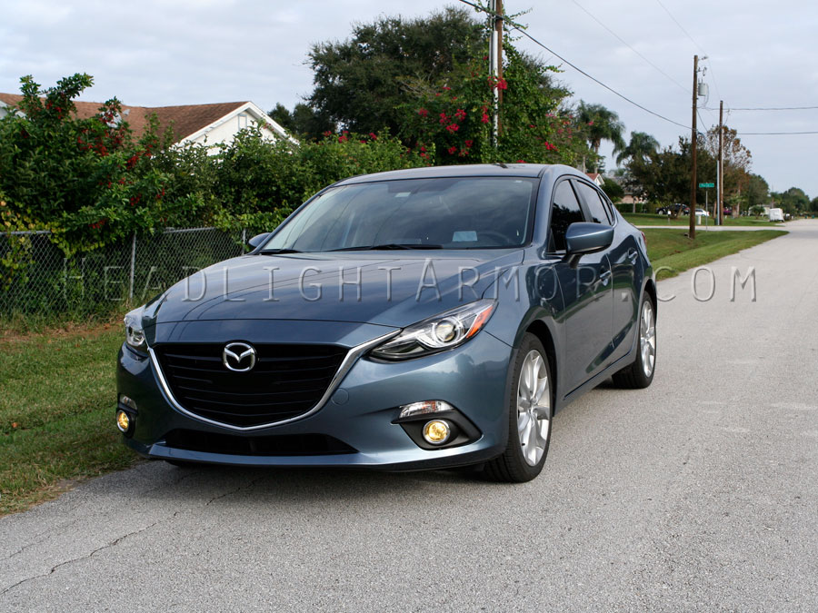 ... Mazda3 GT Yellow Fog Light Protection Kit ...