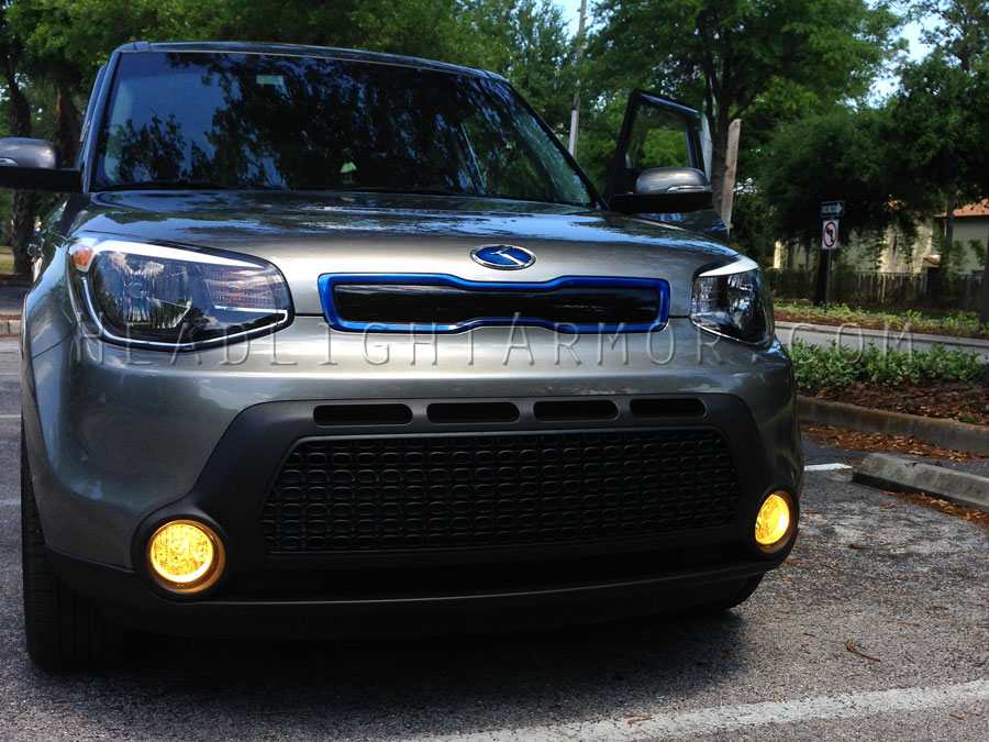 Kia Soul Gt Yellow Fog Light Protection Kit