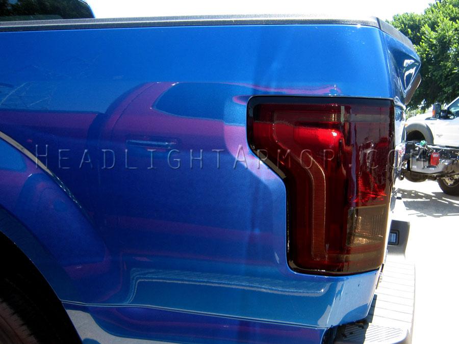 2016 F150 Tail Lights >> 15 17 Ford F150 Smoked Taillight Film Kit