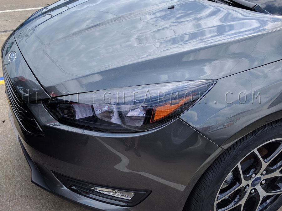 Ford Focus Light Smoke Headlight Protection Film