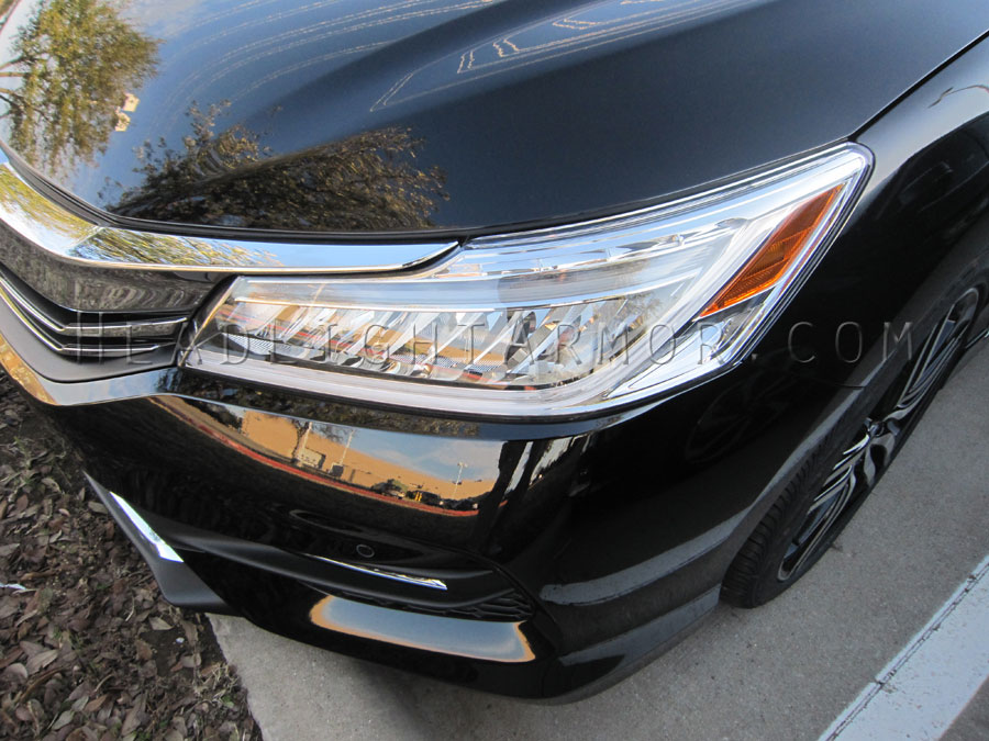 Honda Accord Sedan Led Headlights Clear Protection