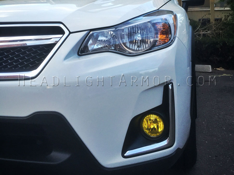 Subaru crosstrek yellow fog lights